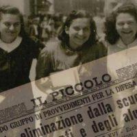 """Incredibile ma vero: la mostra """"Razzismo in cattedra"""" sulle leggi razziali fasciste organizzata da studenti di un Liceo di Trieste censurata dal sindaco fascista!!"""