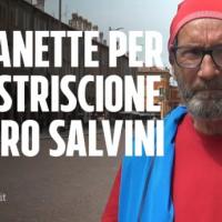 """Carpi – Italia, 14 maggio 2019 – Anno II dell'era Salvini: Umberto, 71 anni """"Denunciato e ammanettato per uno striscione""""…!"""