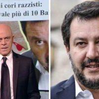 """Maurizio Crozza massacra Matteo Salvini: """"Liliana Segre verrà ricordata perché è sopravvissuta ad Auschwitz,  tu perché non sei sopravvissuto al Papeete"""" – """"La Segre è sotto scorta, ma lei scappava dalle SS mentre tu le corteggi"""""""